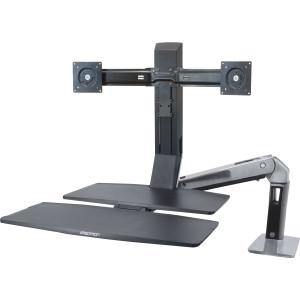 Ergotron Workfit-A, Dual With Worksurface - MyChoiceSoftware.com