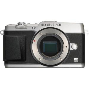 Olympus E-P5 - Digital camera - mirrorless system - 16.1 Mpix - body only - Wi-Fi - silver - MyChoiceSoftware.com