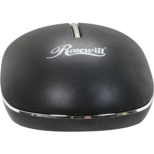 Rosewill RM C2P Mouse Optical 3 Buttons Wired PS/2 Black