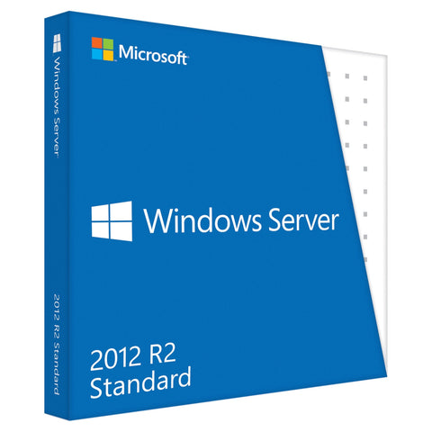 Microsoft Windows Server 2012 R2 + 10 CALs License.
