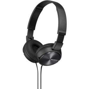 Sony MDR ZX310AP - ZX Series - headphones with mic - full size - black - MyChoiceSoftware.com