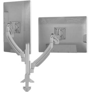 Chief Manufacturing K1 Column Mount Dual Display 2l Arms/blk