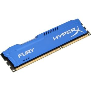 Kingston HyperX FURY Blue Series - DDR3 - 8 GB - DIMM 240-pin - 1600 MHz / PC3-12800 - CL10 - 1.5 V - unbuffered - non-ECC - MyChoiceSoftware.com