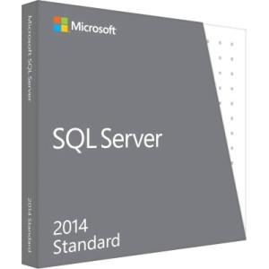 Microsoft Retail Sql Server Standard Edition 2014 Engus Only Dvd 10 Clt - MyChoiceSoftware.com