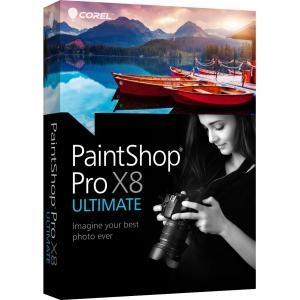 Corel Paintshop Pro X8 Ultimate Mini-box En - MyChoiceSoftware.com