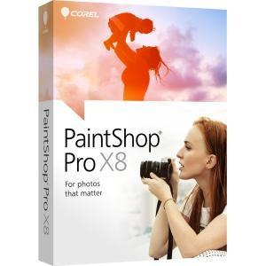 Corel Paintshop Pro X8 Mini-box En - MyChoiceSoftware.com