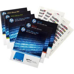 Hewlett Packard Enterprise Hpe Lto-7 Ultrium Rw Bar Code Label Pack - MyChoiceSoftware.com