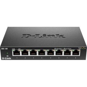 D-link Systems 8 Port Gigabit Ethernet Switch - MyChoiceSoftware.com