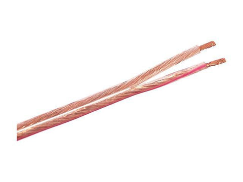 SIIG Speaker Wire - Bulk speaker cable - 16 AWG - 500 ft - clear - MyChoiceSoftware.com