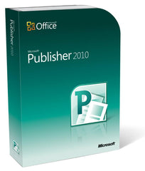 Microsoft Publisher 2010 Retail Box - MyChoiceSoftware.com