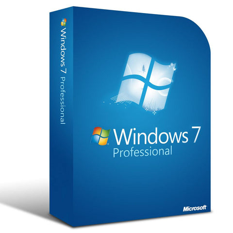 Microsoft Windows 7 Professional SP1 License OEM DSP 64 BIT - MyChoiceSoftware.com