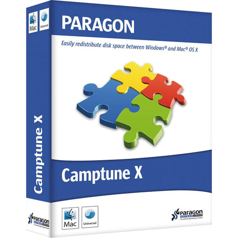 Paragon Software Camptune X Mac Bootcamp Partioning
