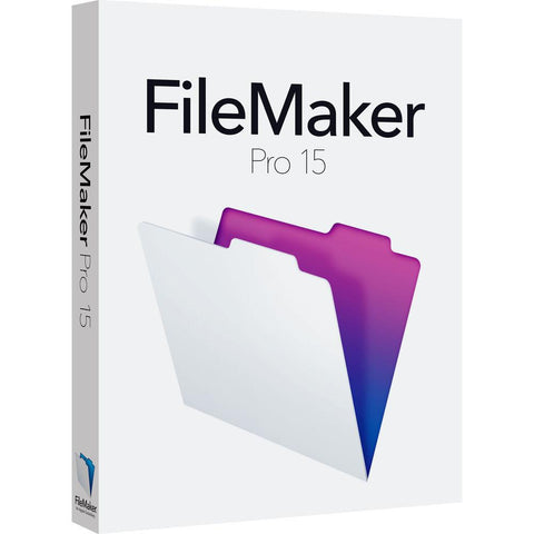 FileMaker Pro 15 Retail Box