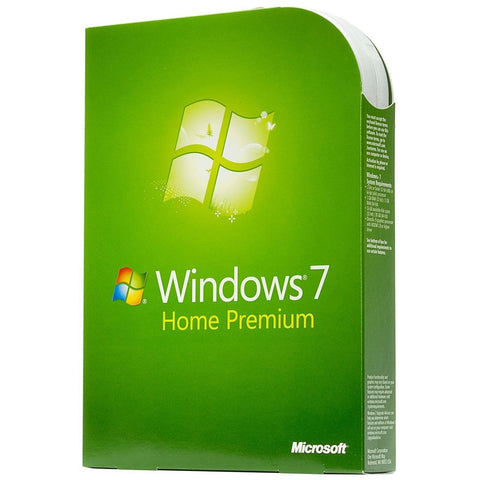 Microsoft Windows 7 Home Premium Retail Box - MyChoiceSoftware.com
