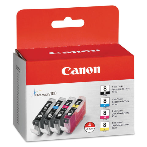 Canon 5 Black/8 Cyan/8 Magenta/8 Yellow