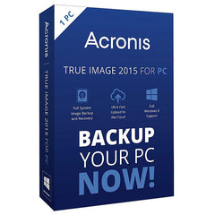 Acronis True Image 2015 PC/MAC Retail Box - MyChoiceSoftware.com