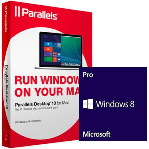 Parallels Desktop 10 for Mac with Windows 8.1 - MyChoiceSoftware.com
