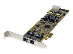 StarTech.com Dual Port PCI Express Gigabit Ethernet PCIe Network Card Adapter - PoE/PSE - Network adapter - PCIe - Gigabit Ethernet x 2 - MyChoiceSoftware.com