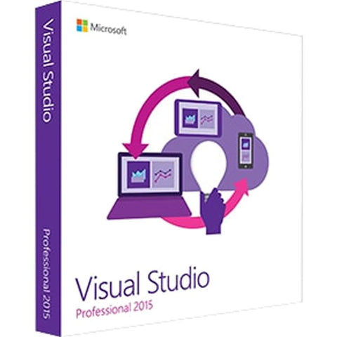 Microsoft Visual Studio 2015 Professional with MSDN and Software Assurance - License - MyChoiceSoftware.com