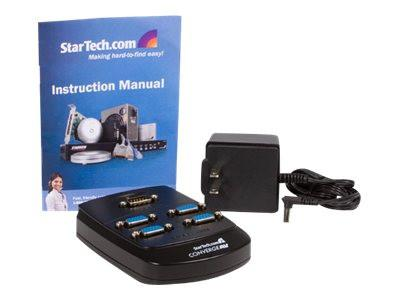 StarTech.com 4 Port Wall Mount VGA Video Splitter - Video splitter - 4 x VGA - desktop - MyChoiceSoftware.com