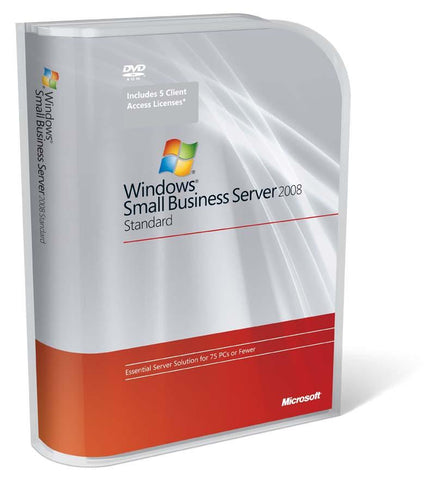 Microsoft Windows Small Business Server 2008 Standard Edition.
