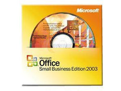 Microsoft Small Business Edition 2003 with Business Contact Manager DSP Disk - MyChoiceSoftware.com