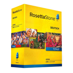 Rosetta Stone Homeschool German Level 1-5 Set - MyChoiceSoftware.com