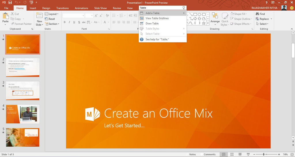 how to use microsoft powerpoint 2016