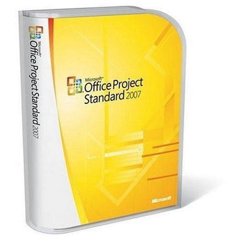Microsoft Office Project Standard 2007 Upgrade - PC - 1 PC - CD-ROM - MyChoiceSoftware.com - 1