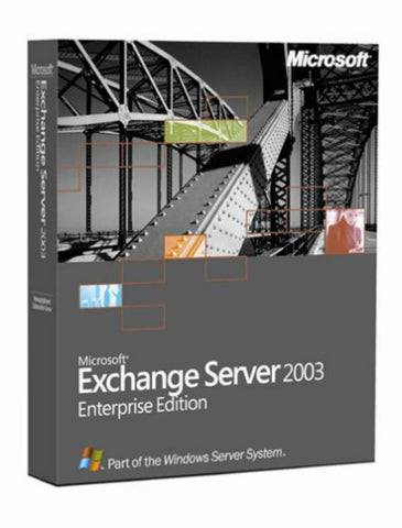 Microsoft Exchange Server 2003 Enterprise 25 CAL - MyChoiceSoftware.com