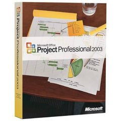 Microsoft Project 2003 Professional - Oem Disk - MyChoiceSoftware.com