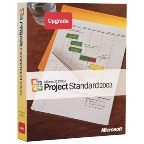 Microsoft Project Standard 2003 - Upgrade - MyChoiceSoftware.com