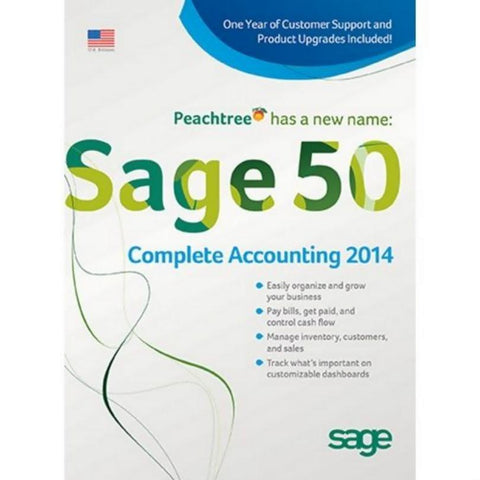Sage 50 Complete Accounting 2014 - 5 Users - Retail Box - MyChoiceSoftware.com