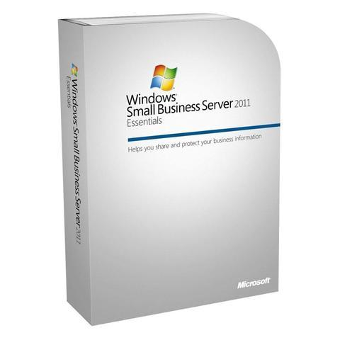 Microsoft Windows Small Business Server 2011 Essentials - 1 server, up to 25 user accounts.