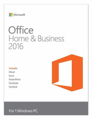 Microsoft Office Home and Business 2016 Physical -ANC
