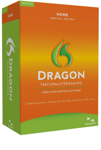 Nuance Dragon Naturally Speaking 12.0 Home.