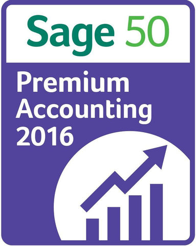 Sage 50 Premium Accounting 2016 5 User - MyChoiceSoftware.com