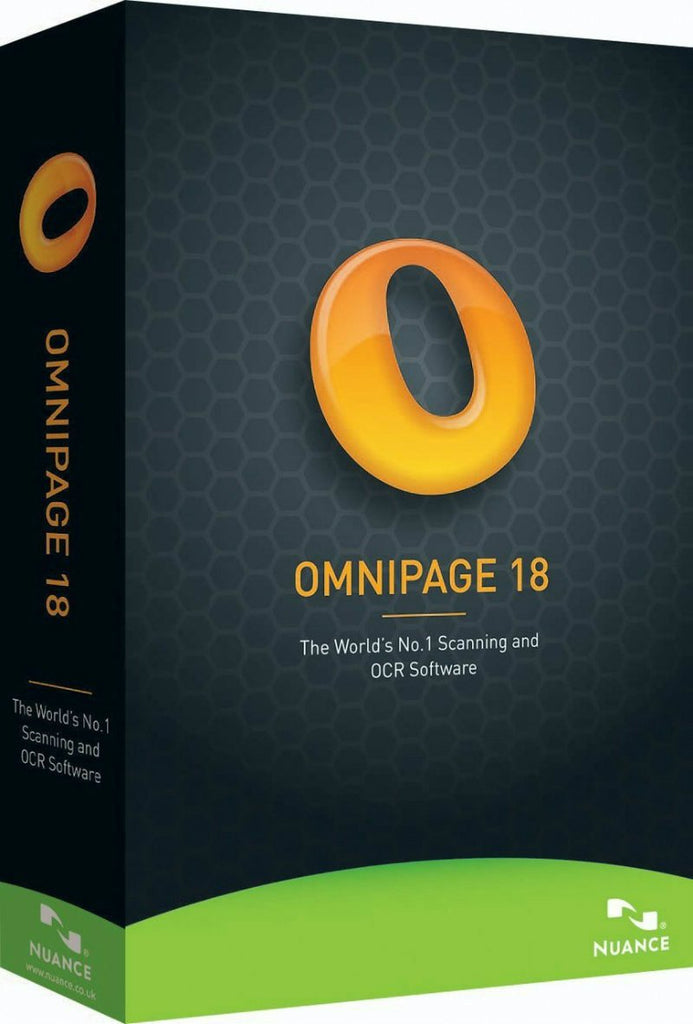 nuance omnipage 18