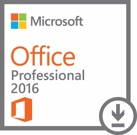 Microsoft Office Professional 2016 License (Spiceworks Customer Exclusive) - MyChoiceSoftware.com