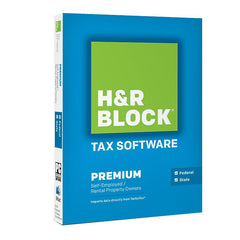 H&R Block Tax Software 14 Premium + State - MyChoiceSoftware.com