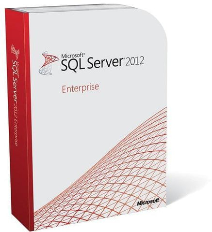 Microsoft SQL Server 2012 Enterprise - 2 Core OEM License - MyChoiceSoftware.com