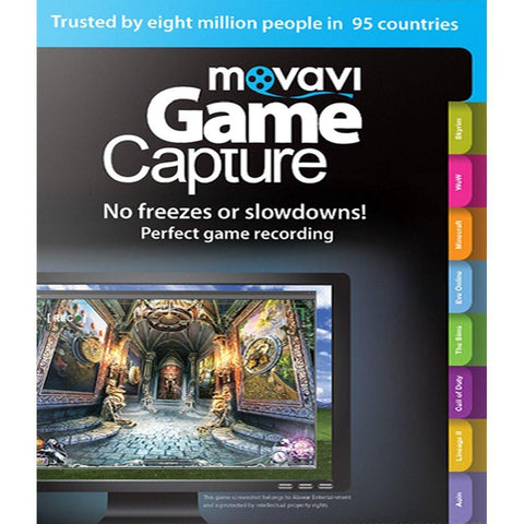 Movavi Game Capture 4 Personal Edition