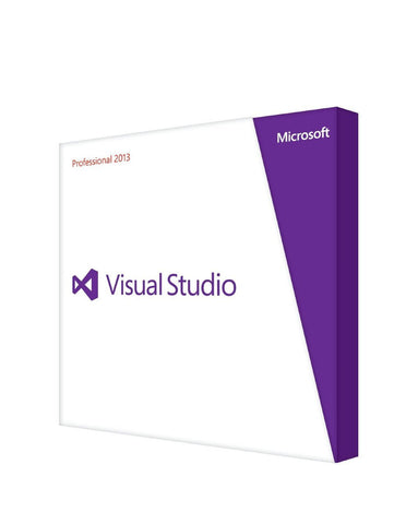Microsoft Visual Studio Professional 2013 - 1 PC - Retail License - MyChoiceSoftware.com