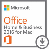 Microsoft Office 2016 Home and Business for Mac 1 User International License