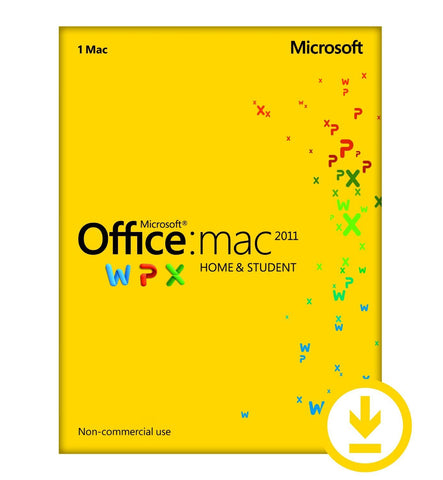 Microsoft Office for Mac Home and Student 2011 Family Pack - 3 Users License - MyChoiceSoftware.com - 1