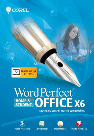Corel Wordperfect Home and Student X6 - MyChoiceSoftware.com