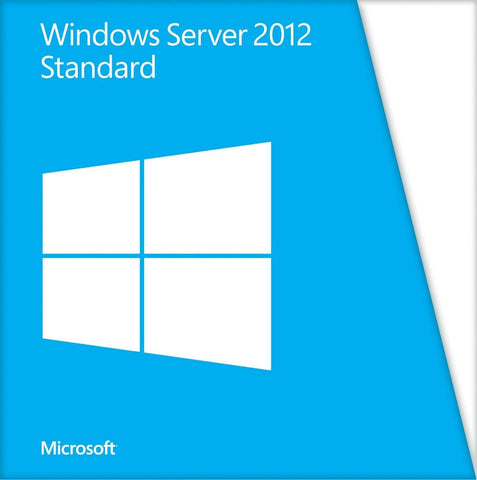 Microsoft Windows Server Standard 2012 with 5 User CALs.