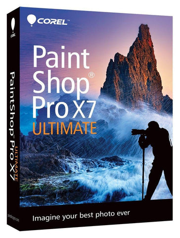 Corel Paintshop Pro X7 Ultimate.