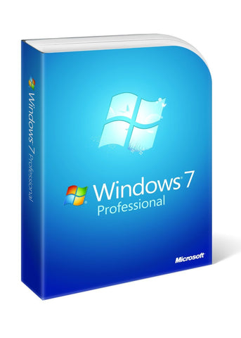 Microsoft Windows 7 Professional Upgrade Retail Box - MyChoiceSoftware.com