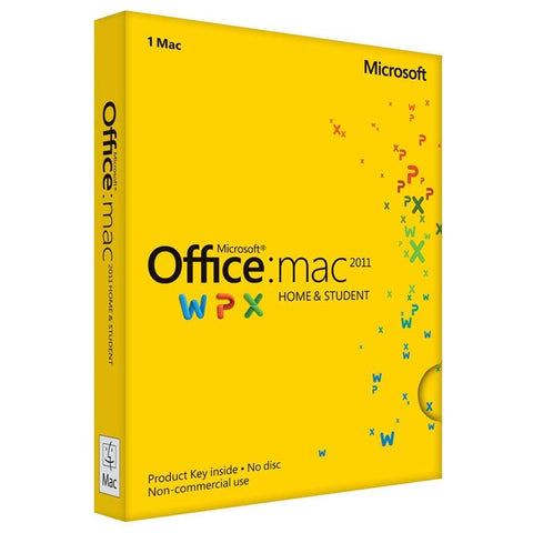 Microsoft Office for Mac Home and Student 2011 Product Keycard License - MyChoiceSoftware.com - 1